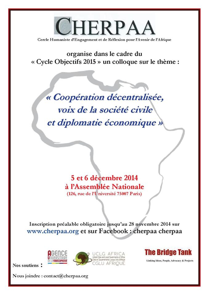 Cherpaa Cycle objectifs 2015
