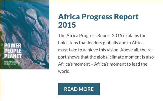 le progres de l'afrique